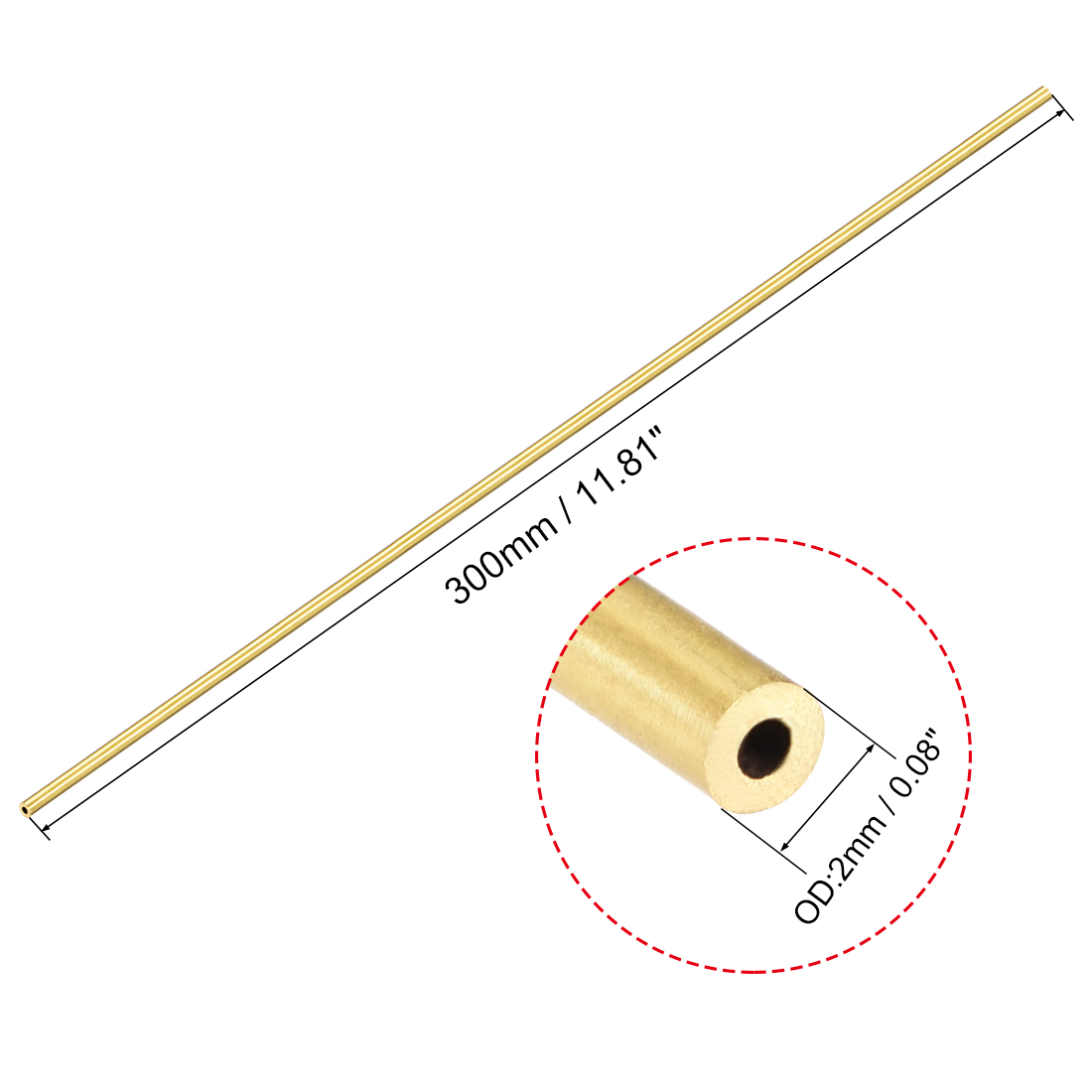 Brass Mini Angles 300mm Long 1.5mm x 1.5mm x 0.3mm