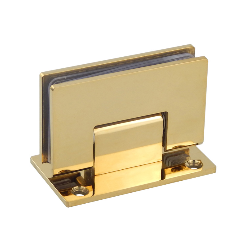 noir Clip de salle de bain en acier inoxydable Accessoire de quincaillerie de porte en verre /à double charni/ère de douche /à 90 degr/és