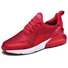 Hafif tarzı erkekler koşu ayakkabıları basit Patchwork örgü eğitmen ayakkabı 270 en kaliteli parça spor erkek Sneakers Summerr(China)