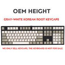 الروسية الكورية اليابانية PBT غرار Keycap OEM الشخصي صبغ الفرعية الحرارية التسامي ل الكرز MX الميكانيكية لوحة المفاتيح مفتاح كاب التبديل(China)