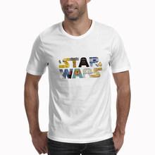 Darth Vader Star Wars Jedi Selfie Stormtrooper Funny T shirt (China)
