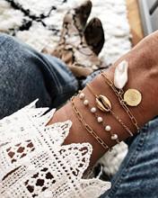 Boêmio estrela escudo tornozelo pulseira na perna pé jóias simples escudo tornozeleiras para mulheres praia charme boho acessórios mujer(China)