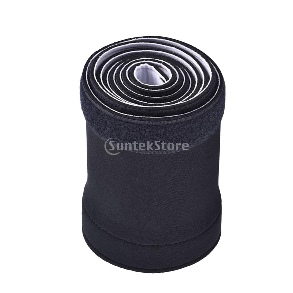 150cm Cable Management Organizer Neoprene Cable Cord Wire Cover Hider Sleeve,Black and White Reversible