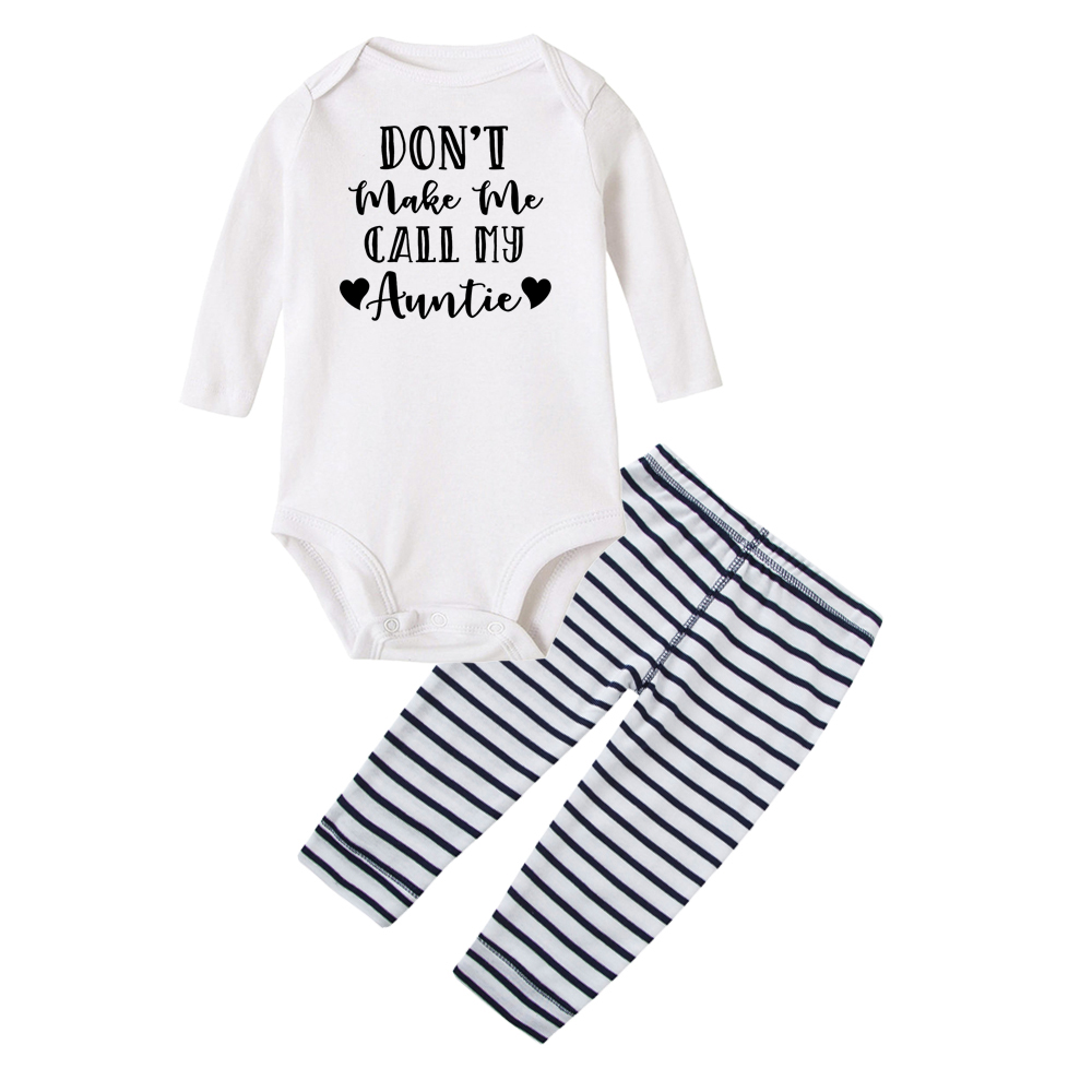 Toddler//Kids Long Sleeve T-Shirt Dont Make Me Call My Aunt