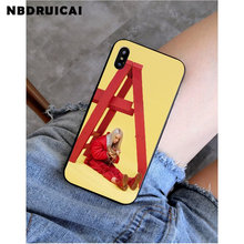 NBDRUICAI Billie Eilish Khalid น่ารักโทรศัพท์คุณภาพสูงสำหรับ iPhone 11 Pro XS สูงสุด 8 7 6 6S plus X 5 5S SE XR(China)