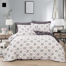 Northern Europe Simple Style Leaf Banana Leaves Printing Bedding Set Duvet Cover Set Pillowcases Sheet Home Textile bedclothes(China)