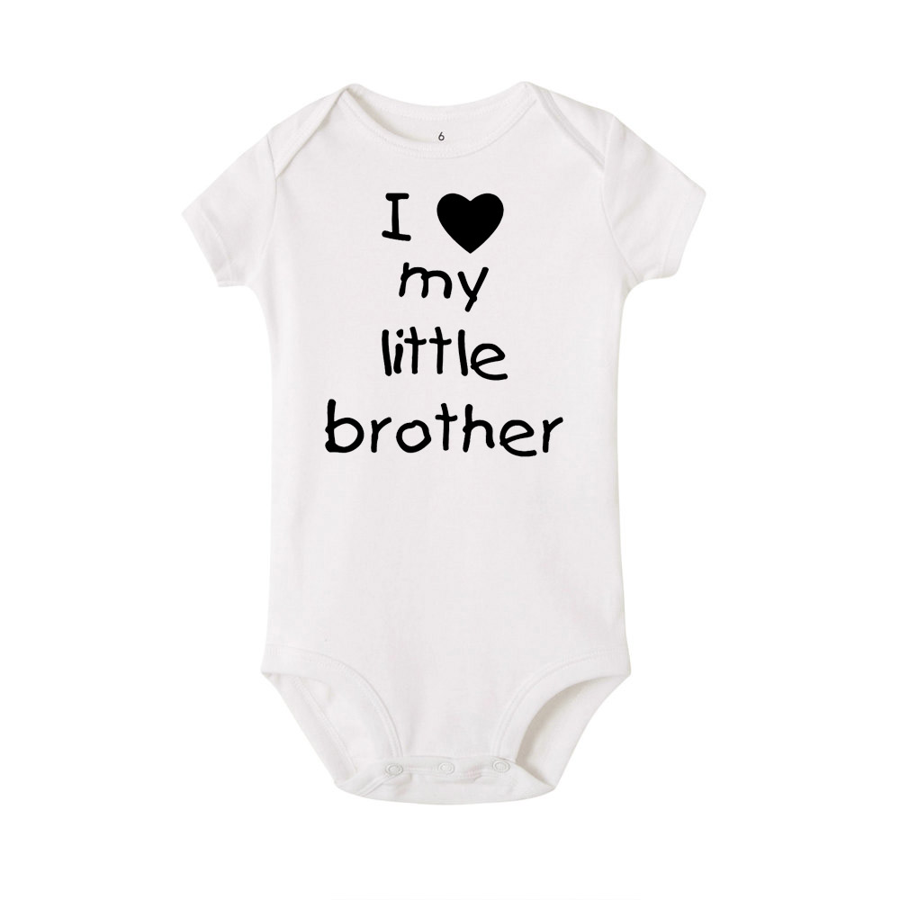 Toddler//Kids Short Sleeve T-Shirt I Really Really Really Love My Big Brother