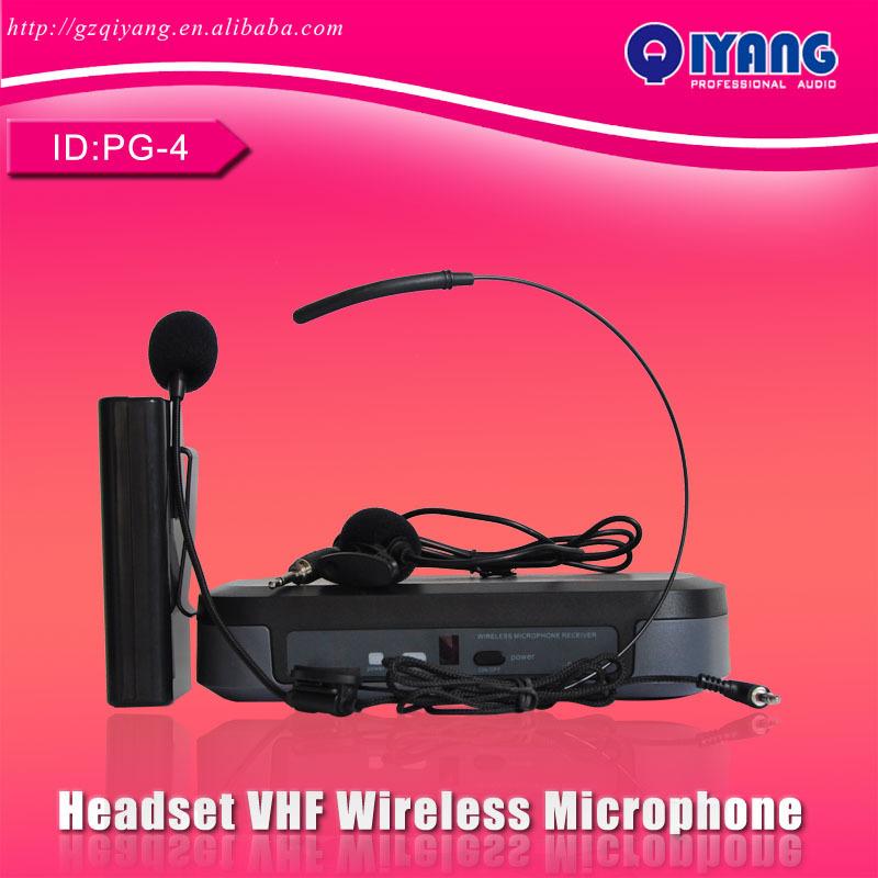 PG-4 Hot sell cheap professional KTV karaoke VHF W...