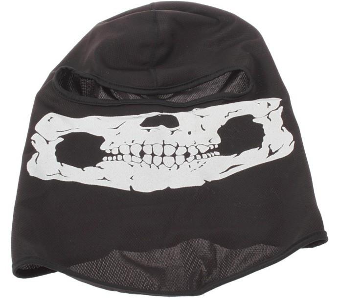 משלוח חינם+2014 הגולגולת גרב מסורתי הפנים מסכת תנין שחור הוד