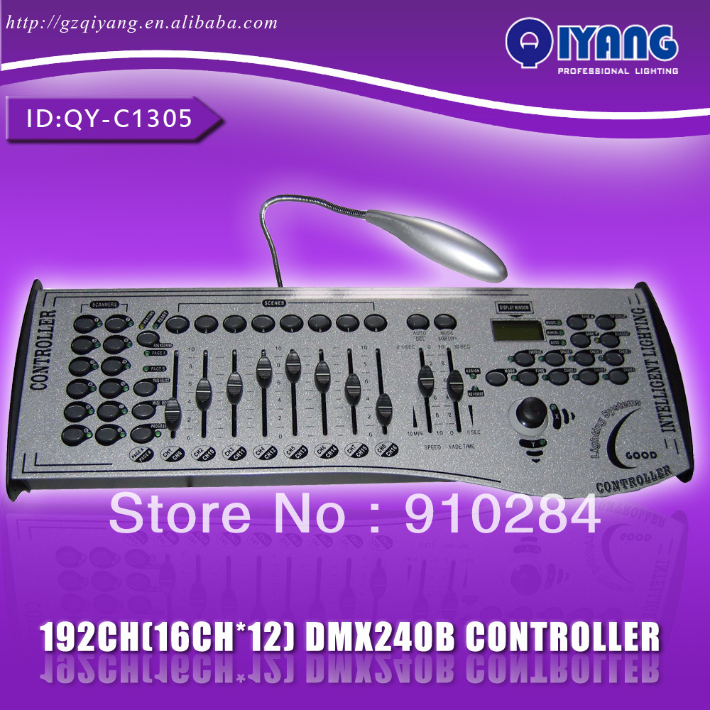 240B 192 channels stage light dmx controller with ...