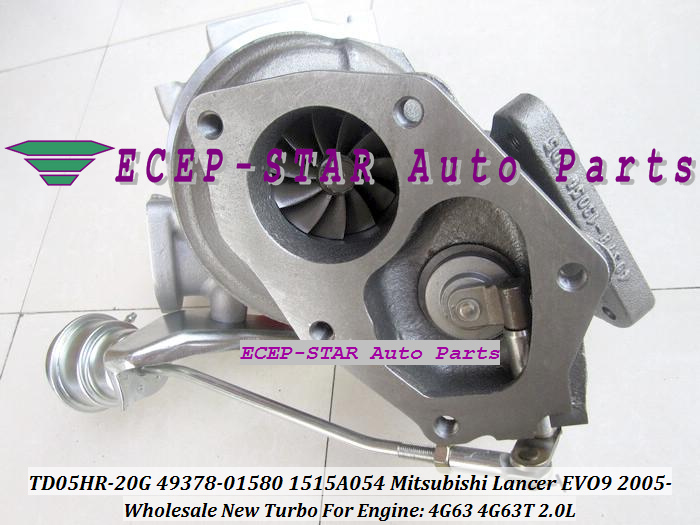 TD05HR TD05HR-20G 49378-01580 1515A054 Turbo Turbine Turbocharger fit For Mitsubishi Lancer EVO EVO9 2005- 4G63 4G63T 2.0L (7)