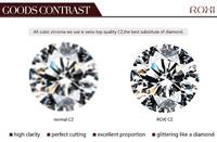 Серьги-гвоздики ROXI ,  /, 18K , crystal2020250450