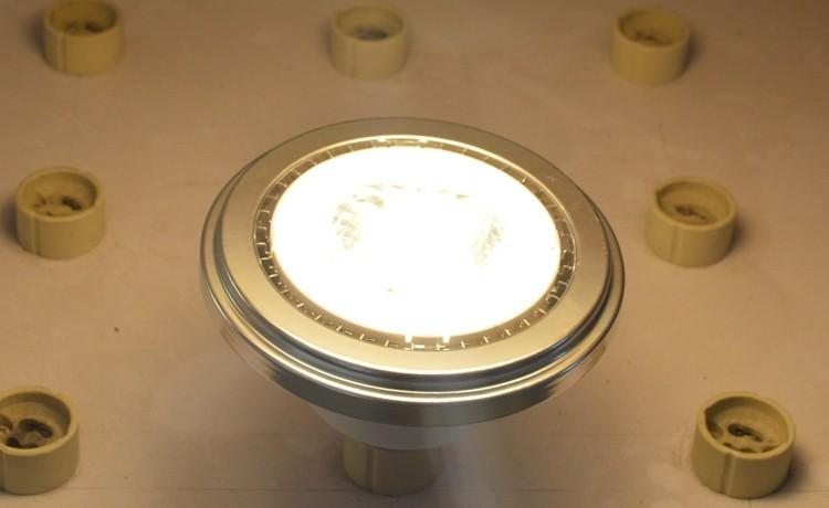 Светодиодные ar111 початка лампа gu10 10w 85-265v 1000lm заменить 100w лампы высокого просвета высокое качество два года гарантии