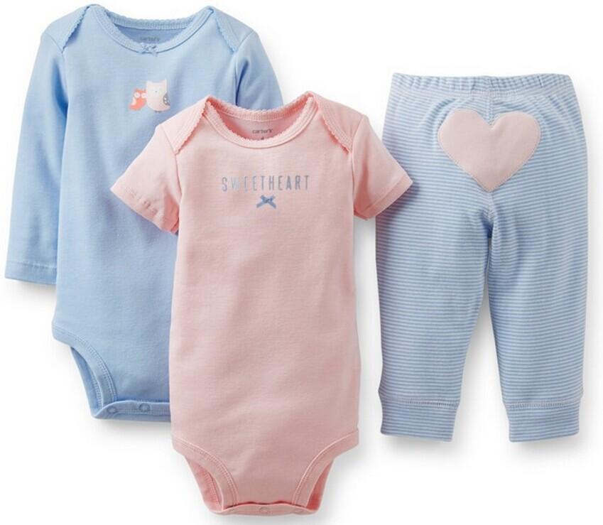 Комплект одежды для девочек Carter's Baby , 3 , NB3M 6M 12M 18M 24M