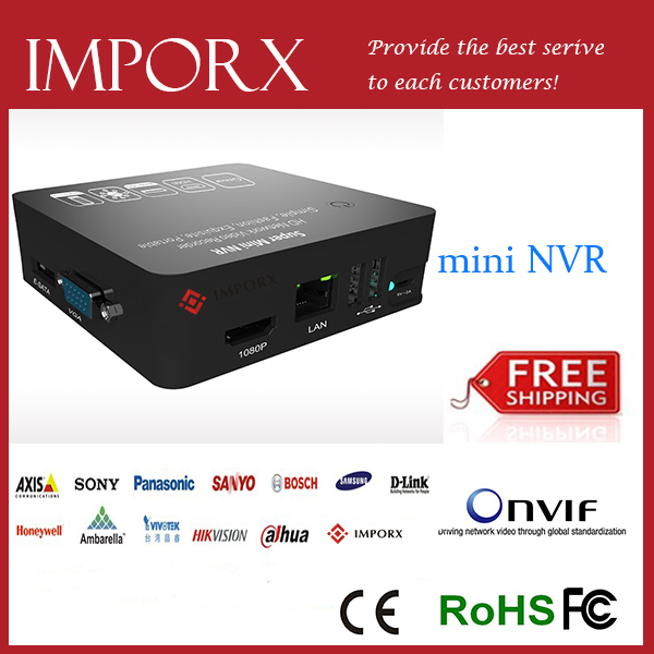CCTV mini NVR 8CH Hybrid DVR HDMI 1080P H.264 ONVIF P2P Cloud network video recorder nvr 8ch CCTV NVR 8 Channel