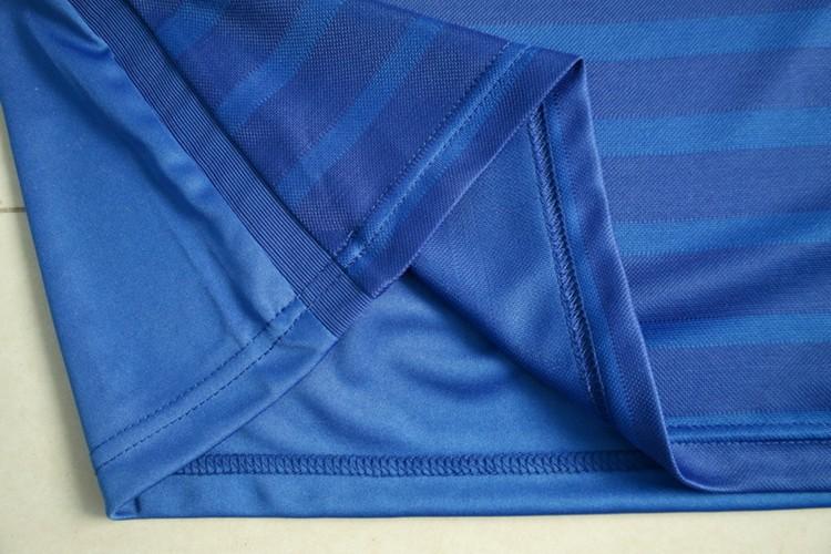 Топ Таиланд качества комплектов 15 Челси Футбол трикотажные изделия Терри опасности Фабрегас главную футбольную форму футбол рубашки синий + логотипы