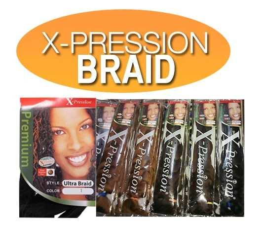 Fashion 40Pcs /+ Xpression Ultra braid.many X-0071