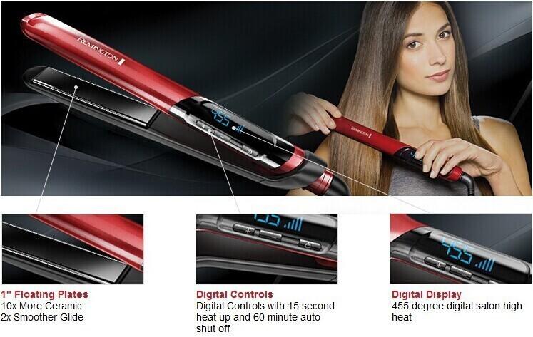 Утюжок для выпрямления волос Remington S9600 1