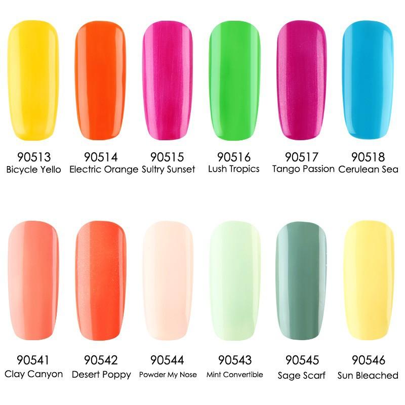 gel polish cnd-8