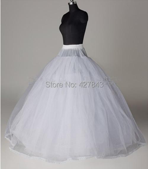 PT006-WholesaleRetail Big Three Layers Tulle Bridal Wedding Quinceanera Dress Ball Gown Petticoat Underskirt Slip Crinoline