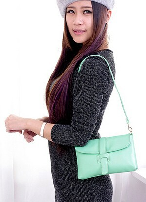Сумка Women bag ! messenger HL265 women leather handbag messenger bag shoulder purse 2014 new