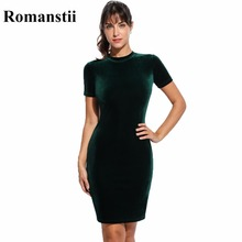 Buy Elegant Sexy Spring Autumn Bandage Bodycon Evening Party Women Velvet Dress Female Lady Tunic Short Black Clothing Clothes 2017 for $13.90 in AliExpress store