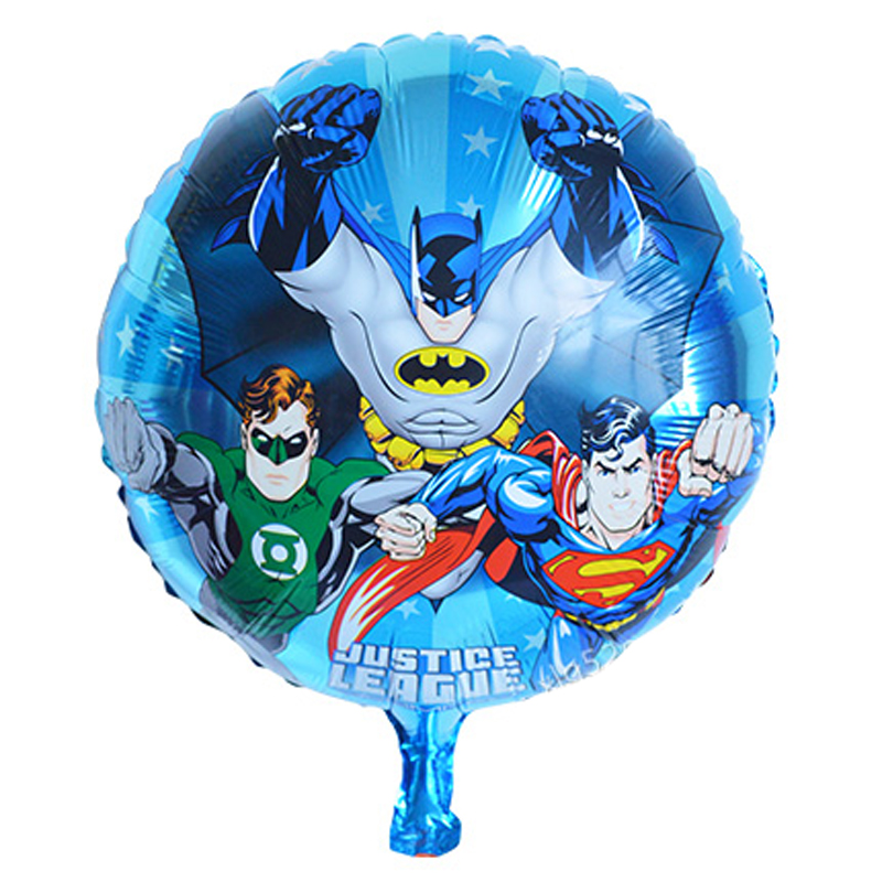18inch cheap mylar balloons avengers toys foil helium children party decoration birthday avengers party supplies balloons(China (Mainland))