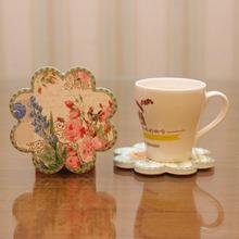 kitchen accessories wood coaster placemats drink coasters posavasos dessous de verre tea cup pad onderzetters almofada mug pad(China (Mainland))