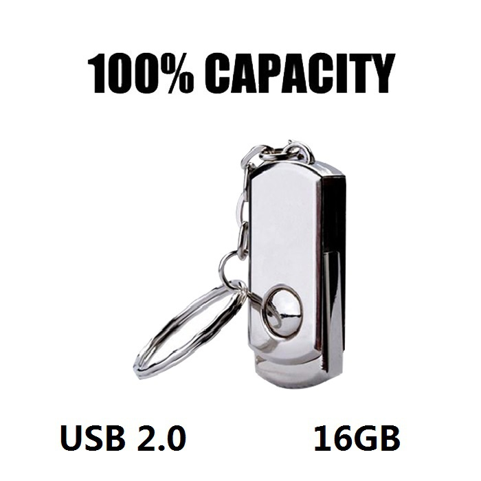 Гаджет  Mini Metal USB Flash Drives Key Chain USB 2.0 Pen Drive 16GB Pendrives Usb Stick USB Memory Stick None Компьютер & сеть
