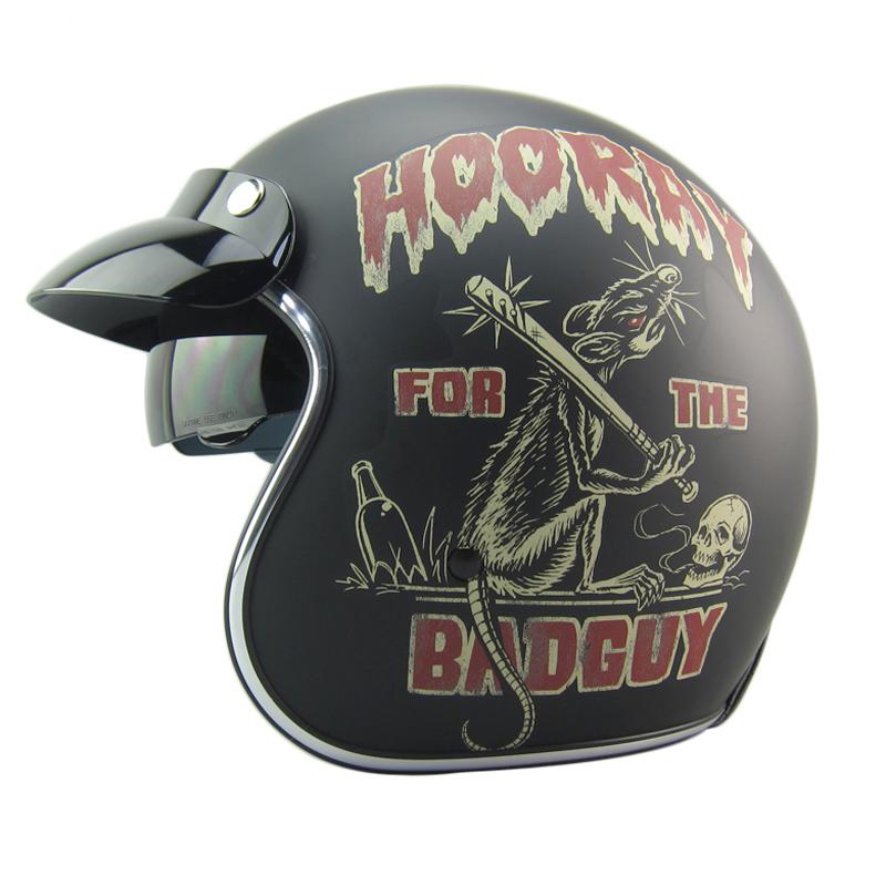 Фотография New arrival 2016 vintage motorcycle helmet Retro scooter helmet,brand TORC open face helmet 3/4 helmet moto cascos ECE approved