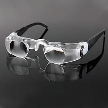 2015 nuevo llega el nuevo diseño Binocular 2.1X lupas de lectura del viejo hombre pesca viendo la televisión lupa telescopio de la lente