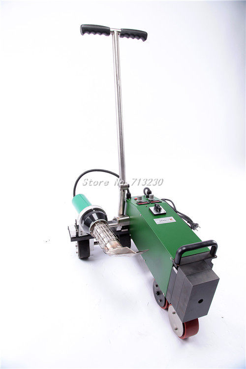 2014 New roof welder portable roof hot-air hand tool pvc Automatic high power Hot Air seam welding machine robot plastic welder(China (Mainland))