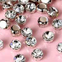 4mm 5mm 6mm 7mm 8mm 10mm,50pcs Crystal Beads Claws Crystal For Dress Sew On Fancy Stone with Claw Setting for Dress