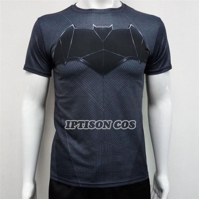 High quality 3d print men t shirts batman short t shirt for Cheap quick t shirt printing