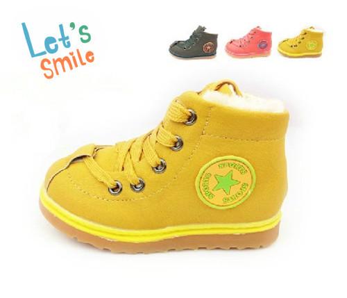 2016 new fashion Kids Children shoes warm cotton-padded Baby Boys Girls winter boots 076 - Hangzhou Dolda Tech. Co., Ltd. store