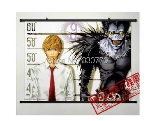 Home Decor Japanese Anime Wall poster Scroll DEATH NOTE Yagami RYUK Cosplay(China (Mainland))
