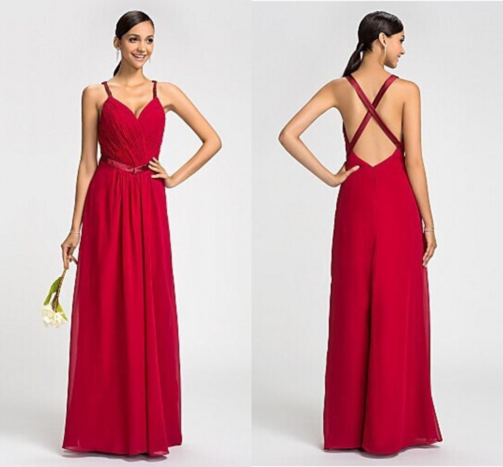 Magnífico Vestido De La Dama De Honor A Cuadros Colección - Ideas de ...