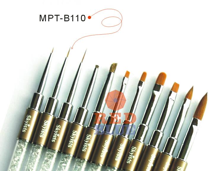 Nail Art Design painting Tool Acrylic Sculpting Brush (MPT-B110)  -  REDBLUE Center store