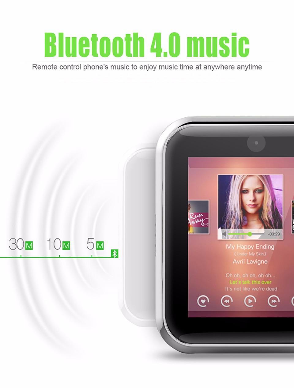 SHAOLIN Bluetooth Smart Watch 11 SmartWatch for apple iPhone IOS Android Smartphones looks like apple watch Reloj Inteligente-17