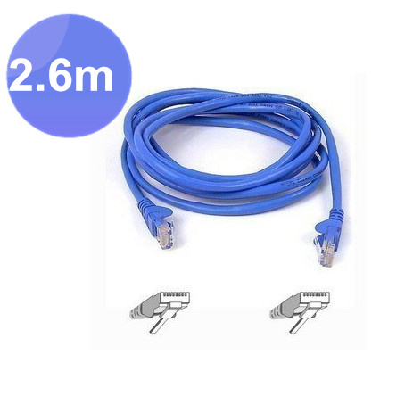 100pcs / lots 2.6m 8.5 Foot RJ45 CAT5 CAT5E Ethernet Cable LAN Network Cable ,Free shipping by Fedex(China (Mainland))