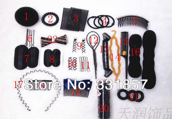 Aliexpress.com : Buy 22pcs\/set Hairpins Magic Hair Styling