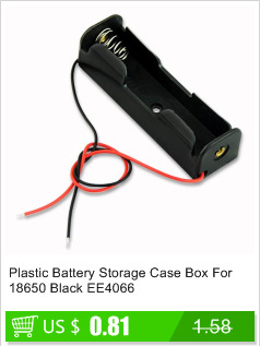 image for EE4070 Black 4 AAA Battery Holder Box Case With Switch Free Shipping
