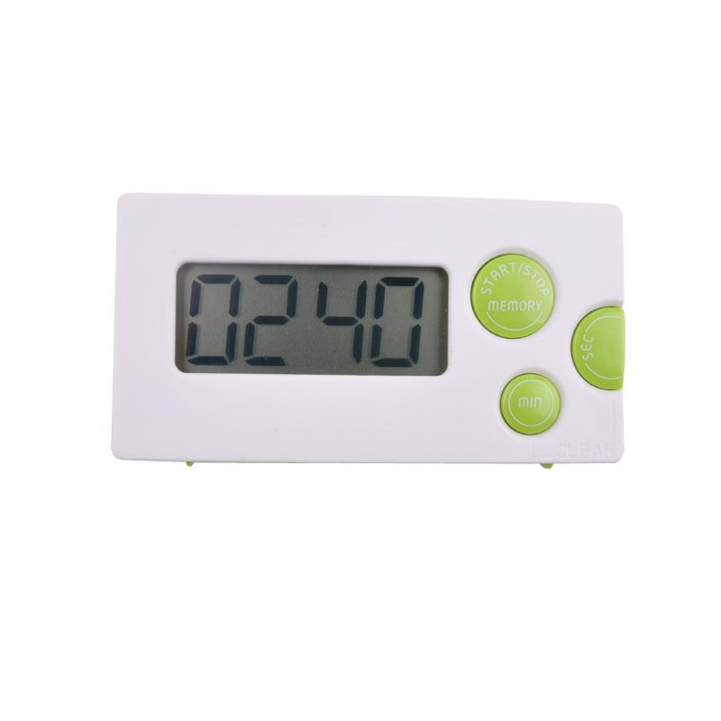 Free shipping, LCD screen alarm clock kitchen timer, digital electronic kitchen timer, loud speaker music reminder timer(China (Mainland))