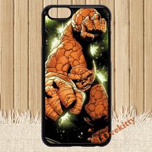 The Thing Comics Cellphone Fantastic Four (2) fashion cover case for iphone 4 4s 5 5s 5c SE 6 6s 6Plus & 6S plus #M1243