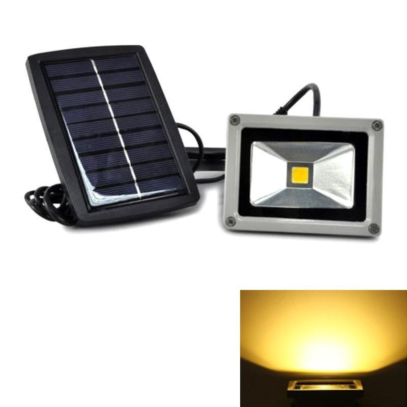 Купить Солнечный Свет Потока 10 Вт 20 Вт 30 Вт 50 Вт DC12V Водонепроницаемый Для Сада Прожектор Открытый прожектор Пейзаж свет с солнечной Панелью