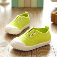 2016 New Children's Casual Shoes Kids Canvas Shoes Child Fashion Sneakers For Boys Girls Children Candy-Colored Balance Sneakers