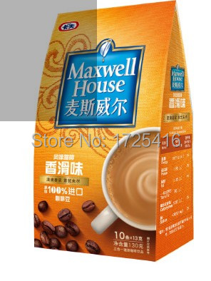 Imported coffee 3 in 1 coffee flavors creamy taste 130g free shipping