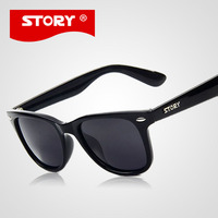 STORY Original Brand Sunglasses Eyewear Polaroid Lens Acetate Good Quality Sun Glass Original Logo Men/Women oculos de sol