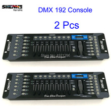 Buy 2 Pcs 192 DMX Controller, Stage Lighting 512 DMX Console DJ Controller Equipment LED Par Moving Head Spotlights for $95.00 in AliExpress store
