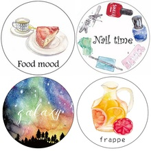 Frappe Jewel Galaxy Girl 7M Washi Paper Tape Paper Masking Tape Memo Pad XQT0416-001(China (Mainland))